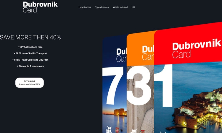 Dubrovnik City Card proving ever popular with tourists