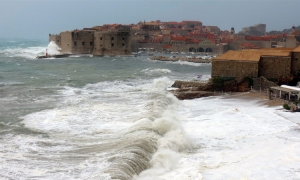VIDEO – Could Dubrovnik see another waterspout over the next two days