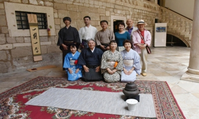 LE PETIT FESTIVAL DU THEATRE – Japanese tea ceremony in the Rector's Palace