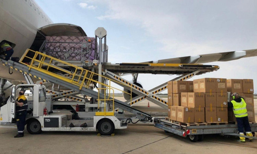 Coronavirus Croatia 12 5 Tonnes Of Medical Equipment Lands In Zagreb From China The Dubrovnik Times