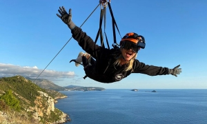 VIDEO – DU the Wire – zip-lining at 100km/h in Dubrovnik, and yes we did it!
