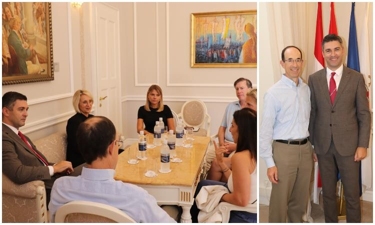 CRUISE TOURISM AS A WORK IN PROGRESS: Dubrovnik Mayor meets with CLIA Executive Board Chairman