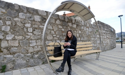 Smart benches arrive in Dubrovnik