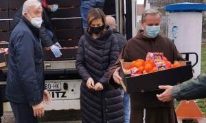 Dubrovnik mandarins arrive in Vukovar