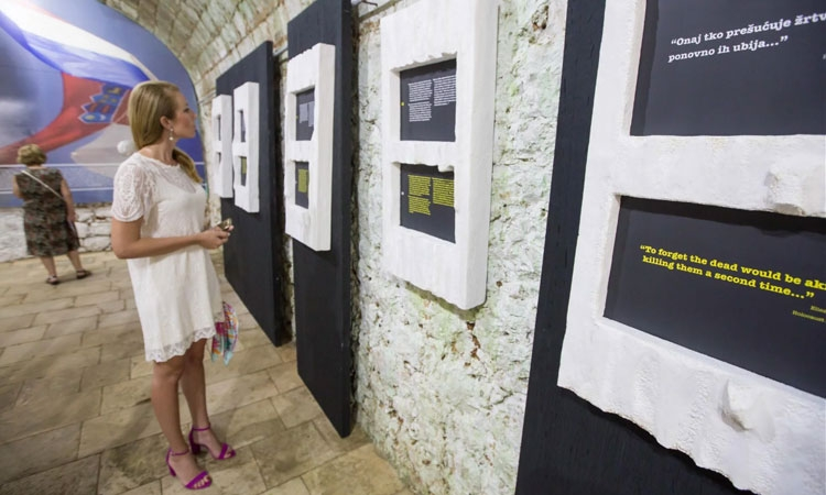 Joint exhibition on Homeland War opens in Dubrovnik