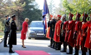 Croatian President marks third year of mandate