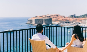The five most romantic spots in Dubrovnik for Valentine's Day