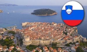 First charter plane from Slovenia lands in Dubrovnik