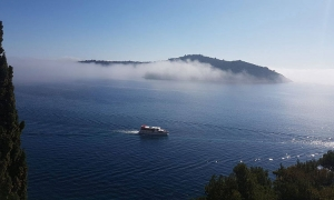 VIDEO/PHOTO - Weird weather in Dubrovnik - sunshine and thick fog