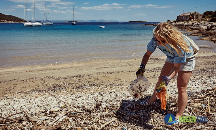 Join a worldwide virtual clean-up challenge #GreenSailTakes5 to celebrate World Oceans Day on 8 June 2020