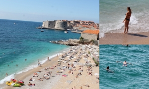 PHOTO GALLERY - September in Dubrovnik: beach please