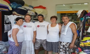 Young Argentinian volunteered for Dubrovnik Caritas