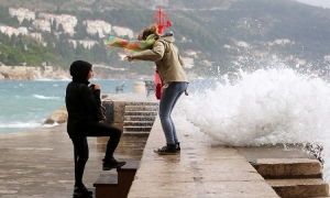 Bad weather expected in the Dubrovnik area