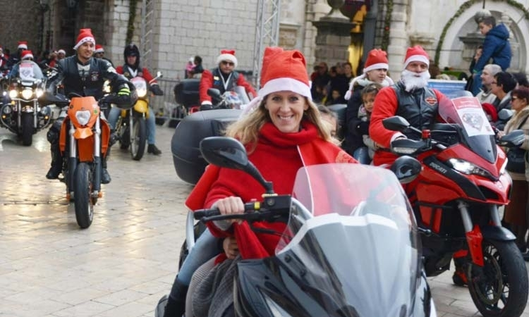 Santa Bikers to bring Christmas cheer to Stradun