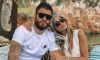 Croatian footballer and his Dubrovnik beauty rest on Lokrum