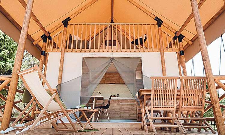 Why go camping when you can go glamping