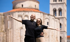Digital nomads Franziska Miksa and Alexander Gebert moved from German Wuppertal to Zadar and are now teaching other Germans how to move to Croatia