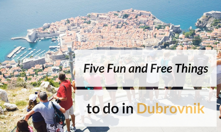 5 free things to do in Dubrovnik
