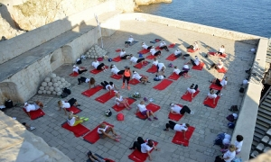Photo Gallery – Exercising on the Lovrijenac Fortress