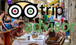 The top five restaurants you chose in Dubrovnik
