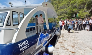 Mljet National Park takes delivery of first electric ferry