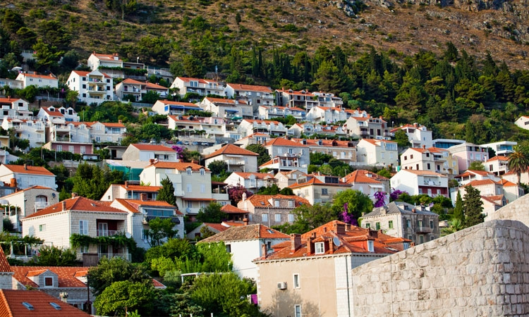 Property prices falling in Dubrovnik
