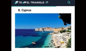 Dubrovnik's Banje beach confused with Cyprus