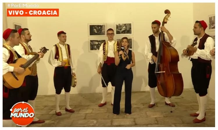 VIDEO – Dubrovnik vocal group sings Halleluyah with famous Argentinian singer Soledad Pastorutti