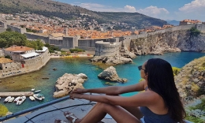 Miss Universe first runner-up rests in Dubrovnik