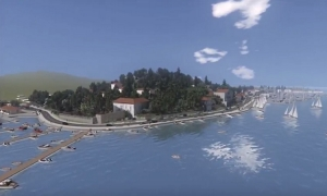 VIDEO SIMULATION – This is how Lapad Coast will look like after a makeover