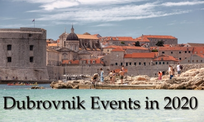 Events in Dubrovnik in 2020