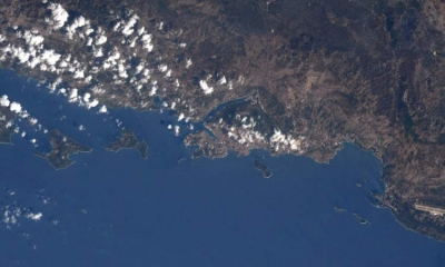 Dubrovnik from space