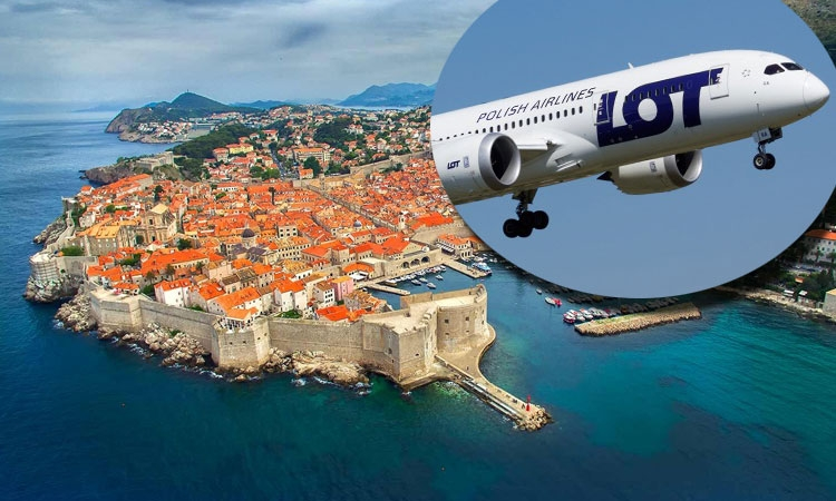LOT Airlines coming to Dubrovnik this winter
