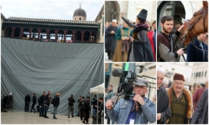 Photo Gallery – Stradun turns into the real movie set as the Robin Hood: Origins filming continues