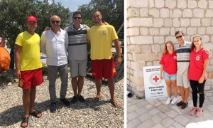 Red Cross vice-president visits Dubrovnik