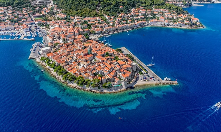 Korcula placed in the top five best islands in the world!
