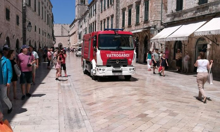 Fire breaks out in Old City of Dubrovnik
