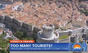 VIDEO – Dubrovnik's tourism challenges on NBC morning show