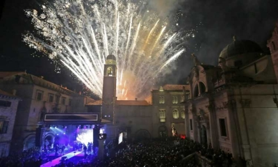 Welcome in 2018 in Dubrovnik