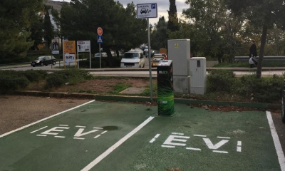 New electric charging station