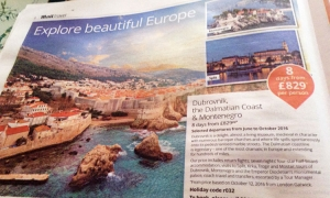 More promotion for Dubrovnik in the UK