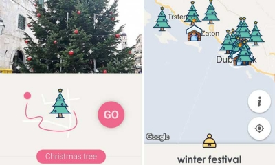 New mobile app for Dubrovnik winter festival