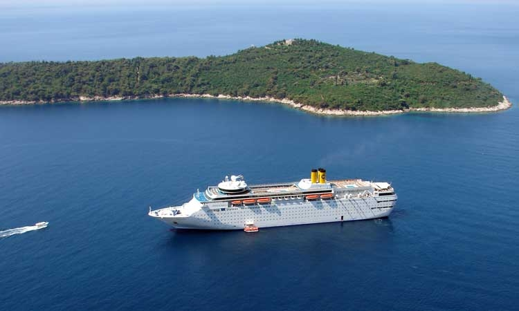 Less cruise ships in Croatia in 2017 compared to 2016