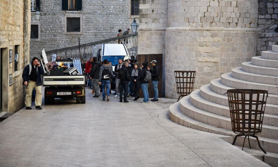 Photo Game Of Thrones Set Scenes In Dubrovnik The