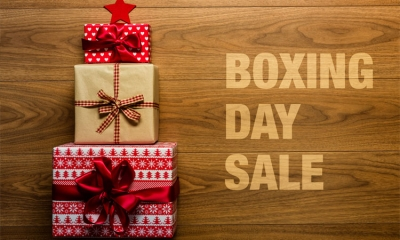 Boxing Day sales open