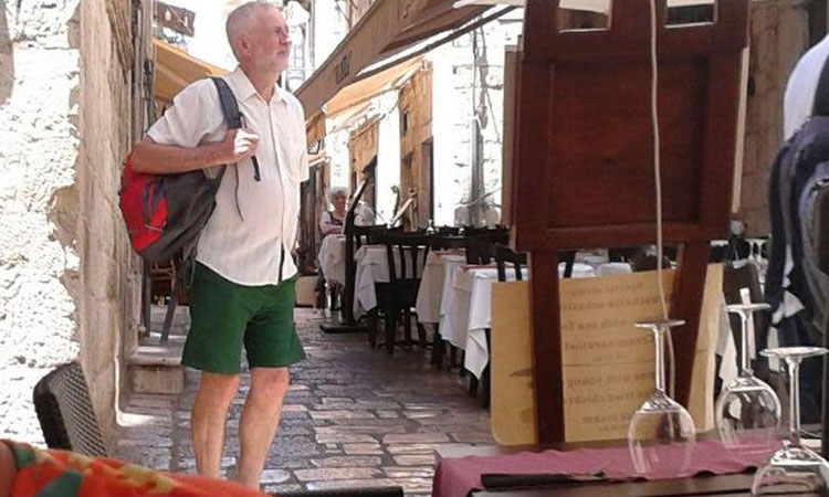 Labour leader enjoys Dubrovnik