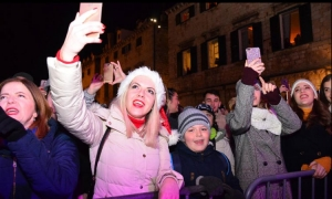 PHOTO – Wild New Year celebrations in Dubrovnik