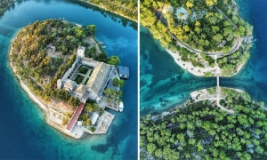 PHOTO – Mljet as you've never seen it before - spectacular aerial photos of Dubrovnik's only national park