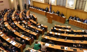 Body temperature to be measured on entrance to Croatian Parliament
