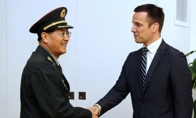 Chinese military delegation visits Croatia